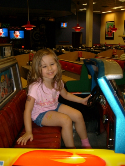 At Chuck E. Cheese