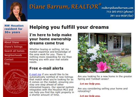 Diane Barrun, Realtor