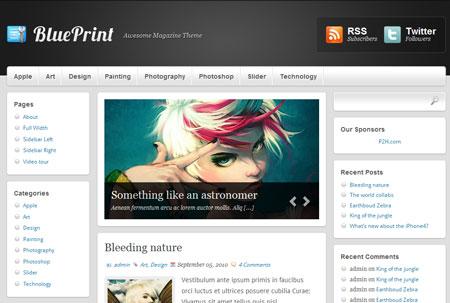 BluePrint Magazine theme