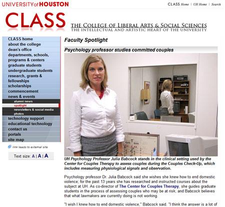 Faculty Spotlight: Julia Babcock