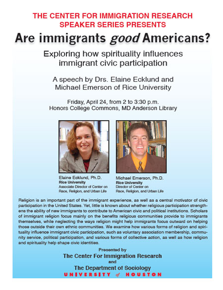 Are immigrants good Americans?