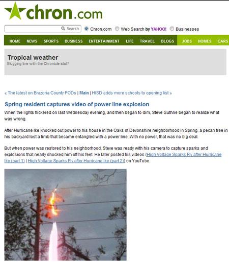 Storm blog post