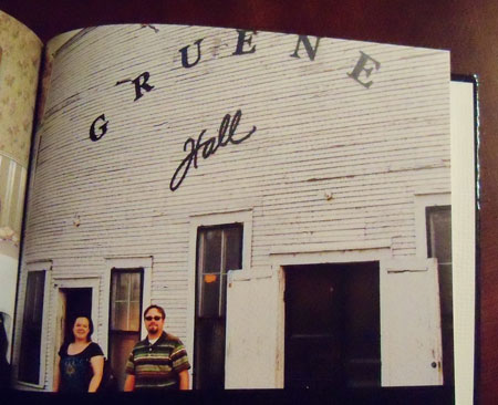 Gruene Hall photo in book
